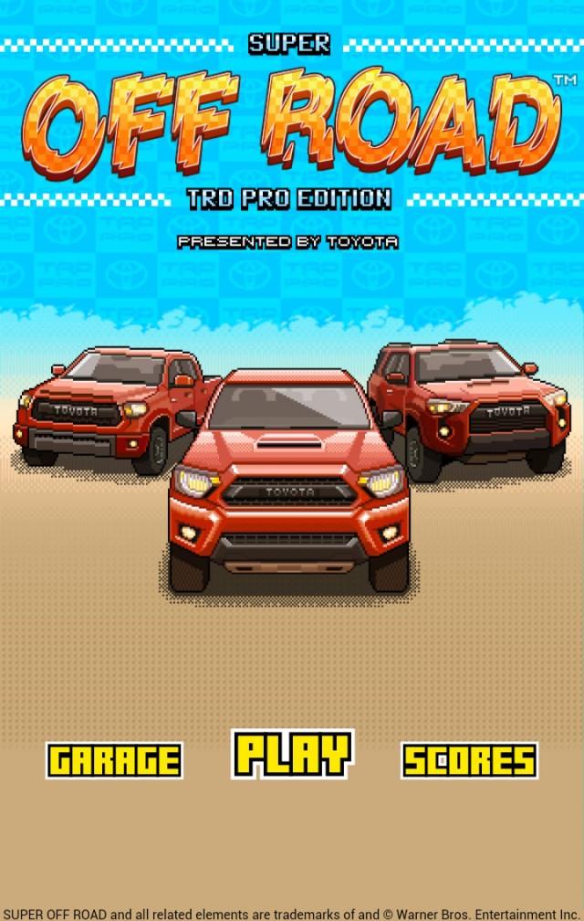 Toyota TRD Pro Super Off Road