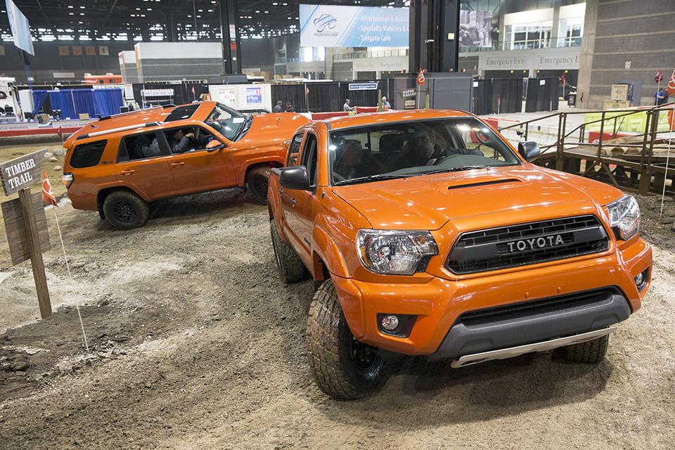 Toyota Trd Pro Chicago Auto Show 3