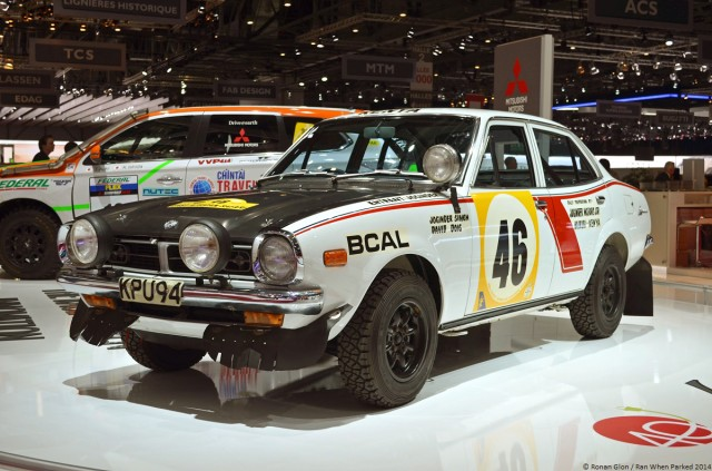 1974 Mitsubishi Lancer 1600GSR Safari Rally 01