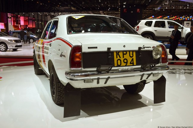 1974 Mitsubishi Lancer 1600GSR Safari Rally 04