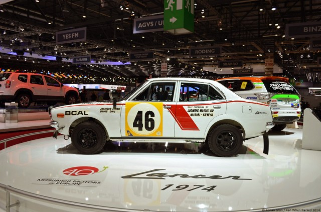 1974 Mitsubishi Lancer 1600GSR Safari Rally 05