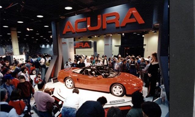 1989 Chicago Auto Show Acura NSX