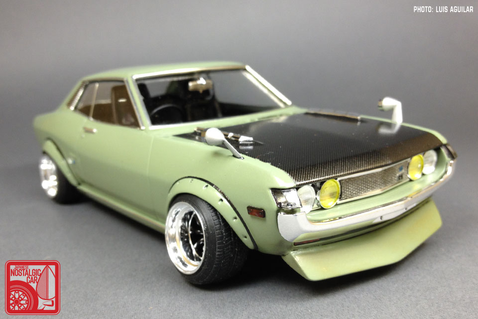Toyota Corolla Tires >> ART CORNER: The custom 1:24 models of Luis Aguilar, Part 01 | Japanese Nostalgic Car