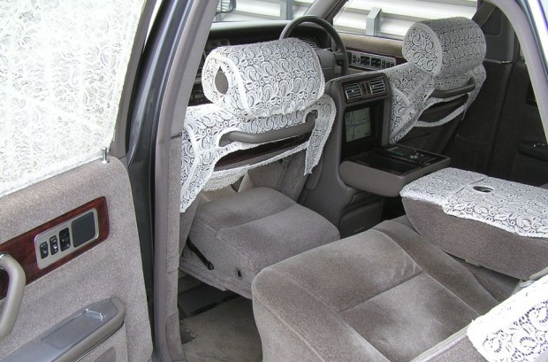 Toyota Century Pass-Through Seat