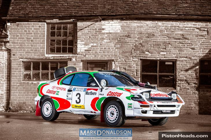 KIDNEY, ANYONE? Ex-works Toyota Celica ST185 Group A rally ...