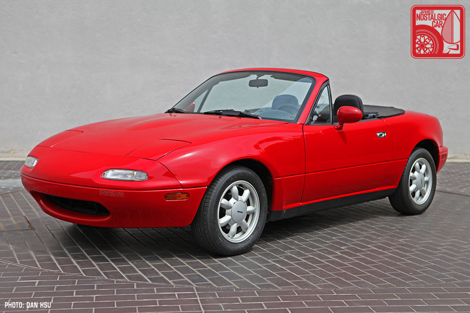 25 Year Club The Mazda Mx 5 Is Officially A Japanese Nostalgic Car