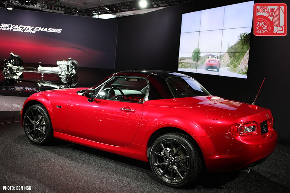 Mazda Raceway Laguna Seca >> EVENTS: Mazda Miata's 25th birthday steals the NY Auto Show   Japanese Nostalgic Car