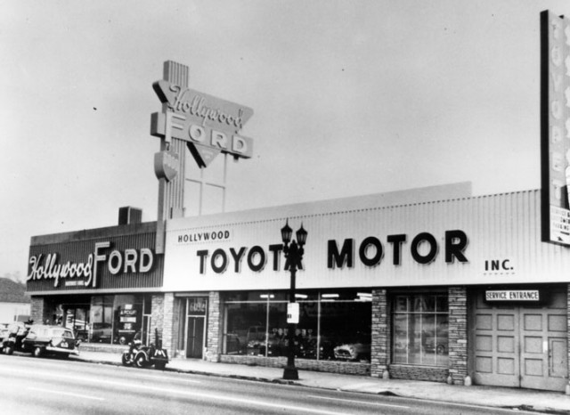 Toyota 1957 Hollywood dealership