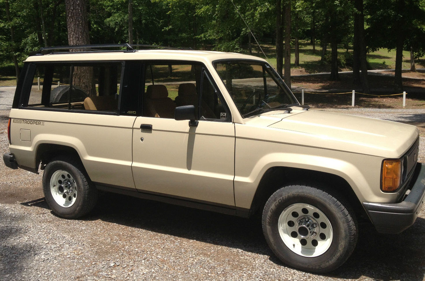 kidney, anyone? 20k-mile 1986 isuzu trooper ii | japanese nostalgic car
