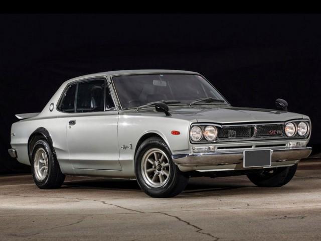 1972 Nissan Skyline GT-R KPGC10-001445 01
