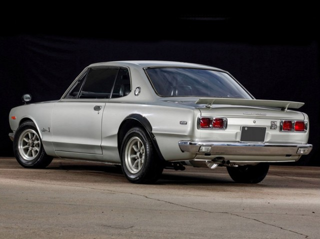KIDNEY, ANYONE? 1972 Hakosuka GT-R to be auctioned at