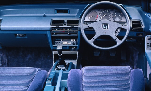 1985 Honda Accord Aerodeck dash