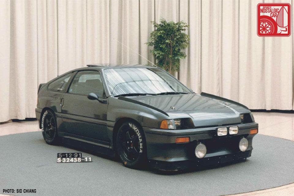 1986 honda crx si mugen 01 japanese nostalgic car. Black Bedroom Furniture Sets. Home Design Ideas
