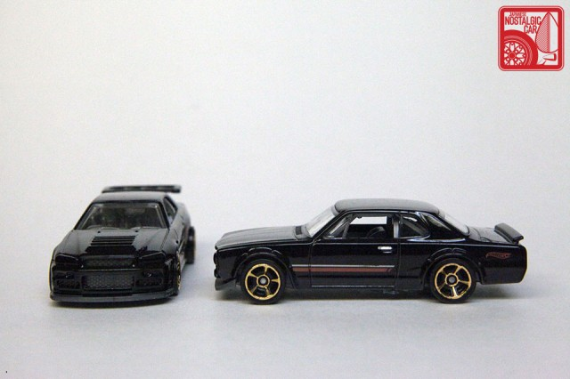 Hot Wheels Then & Now Nissan Skyline hakosuka R34