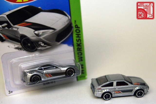 Hot Wheels Then & Now Toyota AE86 Corolla Scion FRS
