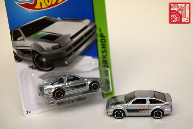 Hot Wheels Then & Now Toyota AE86 zamac