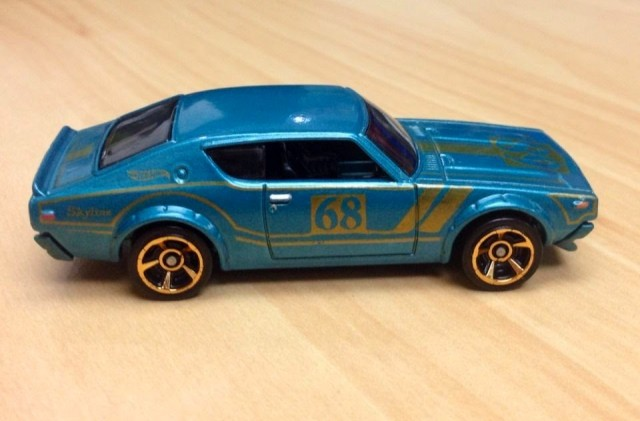 Hot Wheels kenmeri Nissan Skyline