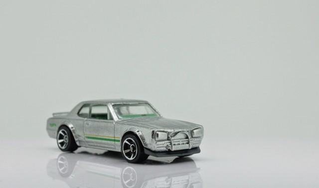 Hot Wheels zamac Nissan Skyline hakosuka