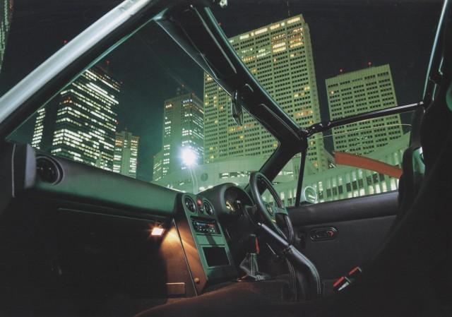 Mazda M2 1028 MX-5 Miata interior