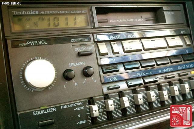 1986 Cressida OEM stereo