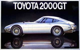 Fujimi Touge Big Car Toyota 2000GT