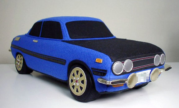 Rocket Craft plush Isuzu Bellett