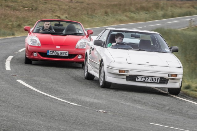 Toyota AW11 MR2 & TF300
