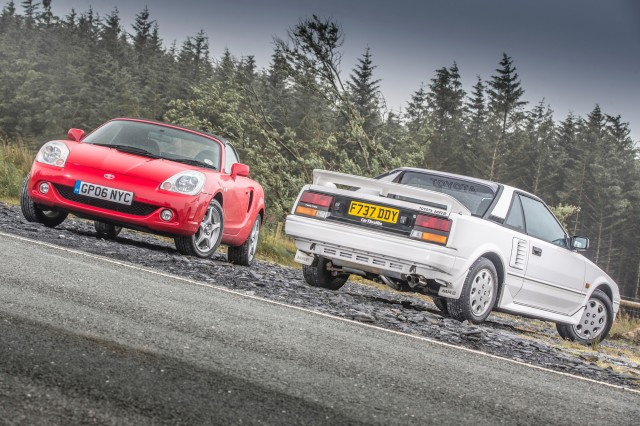 Toyota MR2 AW11 & TF300