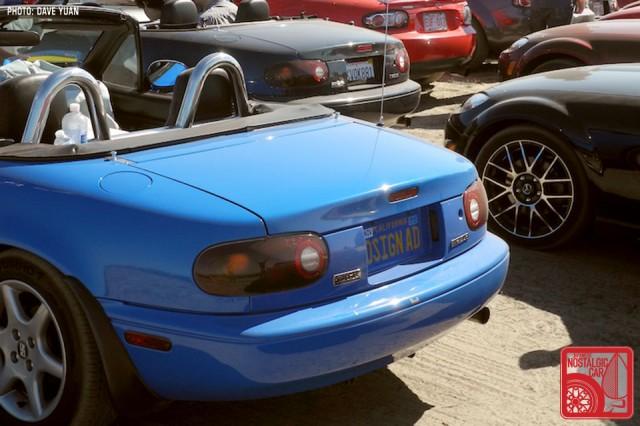 026DY_Mazda MX5 Miata plate