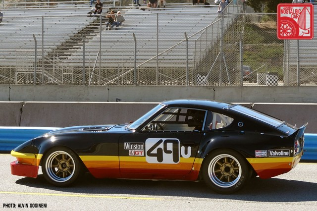 EVENTS Monterey Historics Part 04  Running a Datsun 240Z at the