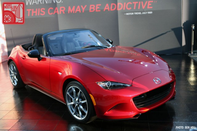 news this is the nd mazda mx 5 miata japanese nostalgic car. Black Bedroom Furniture Sets. Home Design Ideas
