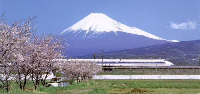 Shinkansen Mt Fuji