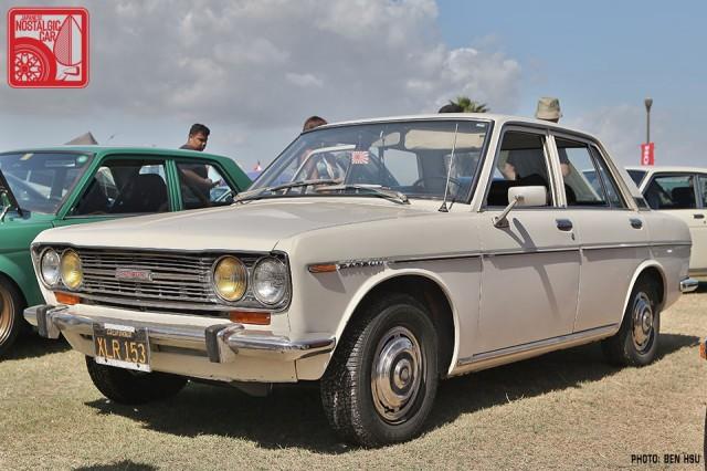 0377-BH2890_Datsun 510 Nissan Bluebird white