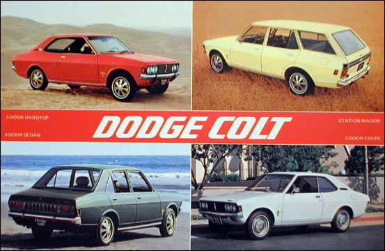 1972 Dodge Colt Mitsubishi Galant