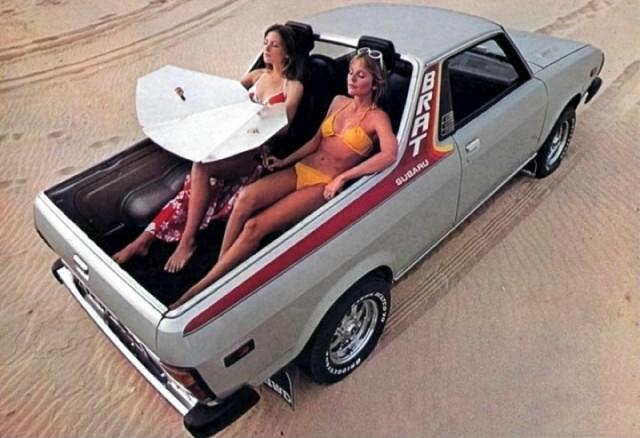 1978 Subaru BRAT jump seat