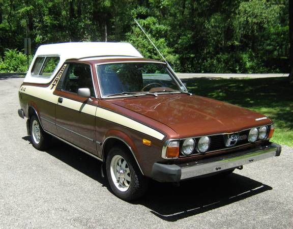 Kidney Anyone Flawless 1980 Subaru Brat Japanese Nostalgic Car