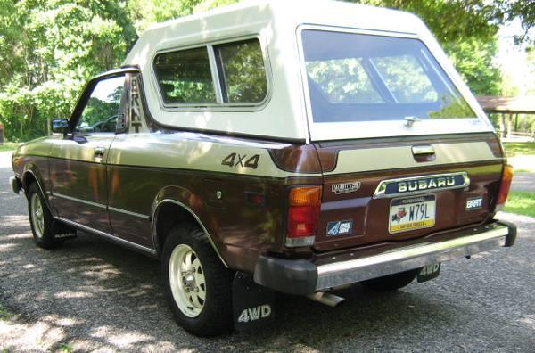 1980 Subaru BRAT brown05