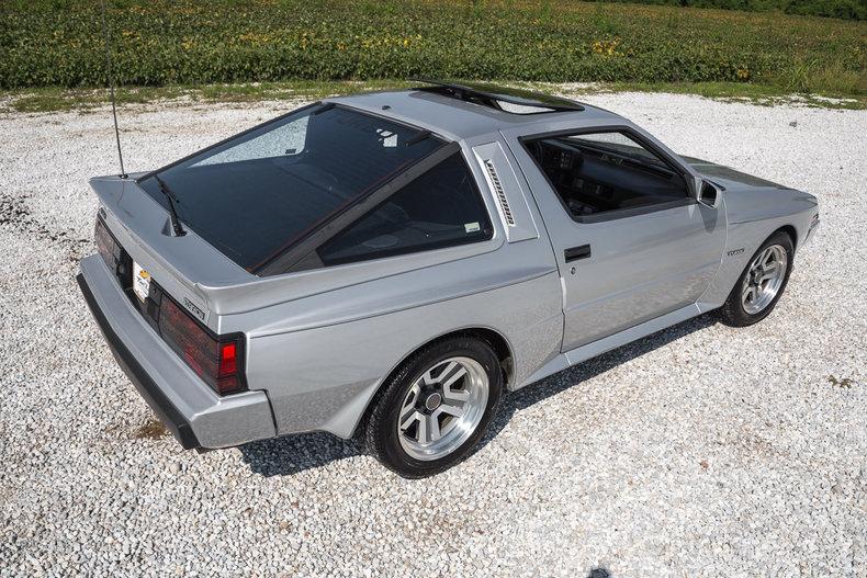 1986 Mitsubishi Starion 05 Japanese Nostalgic Car