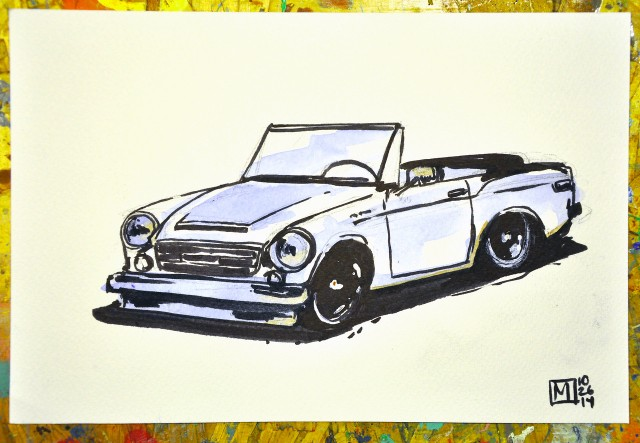 Datsun Roadster by Matt Spangler