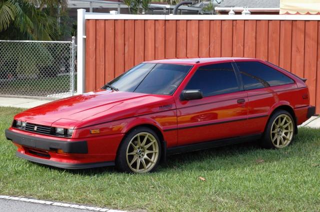 1986 Isuzu Impulse Turbo red01