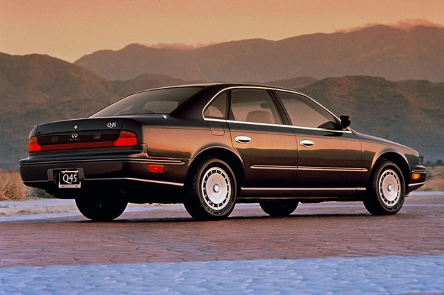 25 YEAR CLUB: The Infiniti Q45 is officially a Japanese ...