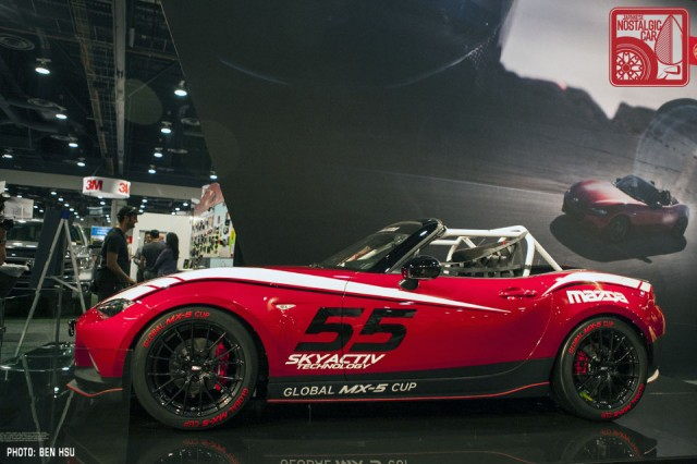 news the first nd mazda mx 5 race car is here japanese nostalgic car. Black Bedroom Furniture Sets. Home Design Ideas
