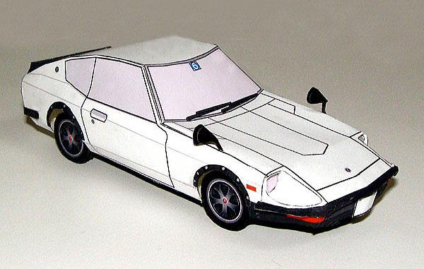 Nissan Fairlady 240ZG S30 papercraft