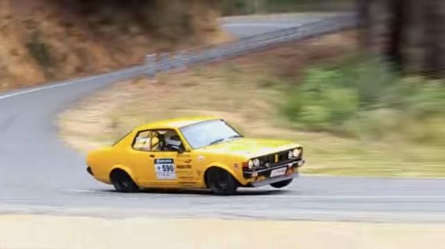 1974 Mitsubishi Colt Galant GT Targa Tasmania