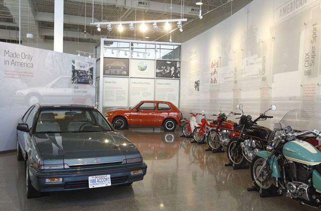 GALLERIES Honda Heritage Center Opens In Ohio