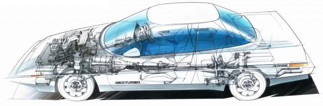 Subaru Alcyone XT