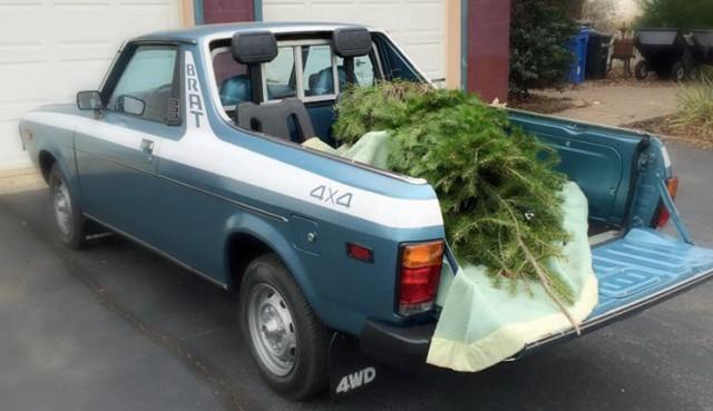 Subaru BRAT Christmas