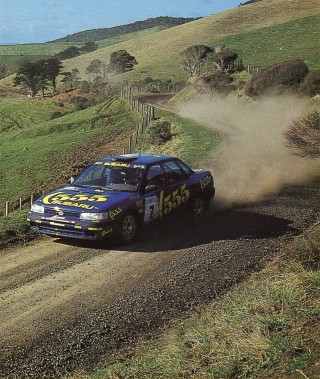 Subaru Legacy Rally New Zealand 1993