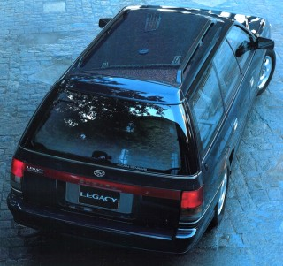 Subaru Legacy wagon rear