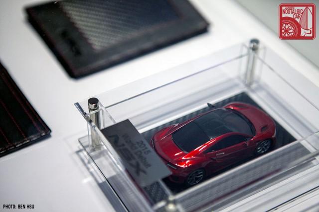 Detroit Auto Show Acura Nsx Scale Model Japanese Nostalgic Car